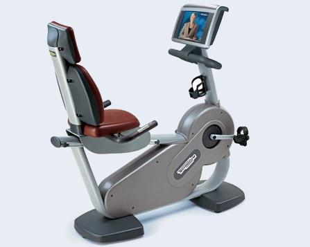 Technogym Excite 700 Recline met TV