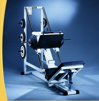 TechnoGym Leg Press 45 graden plate loaded