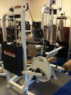 Totale kracht inrichting; Life Fitness Pro 1 serie