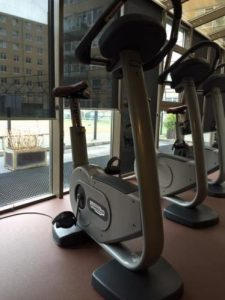 Technogym Upright bikes
